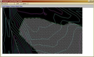 quick view of grid volume surface